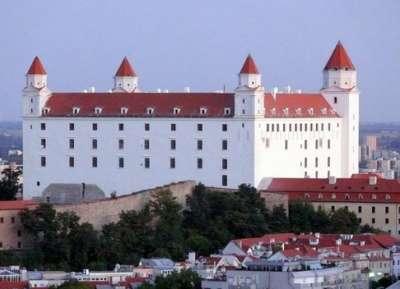 Bratislavský hrad foto
