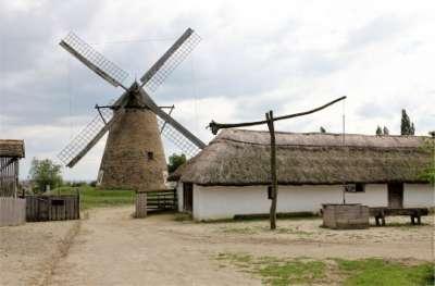 Maďarské etnografické muzeum pod širým nebem foto