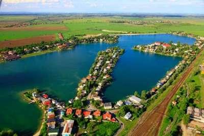 Sluneční jezera Senec foto