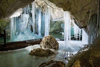 Demänovská ledová jeskyně foto