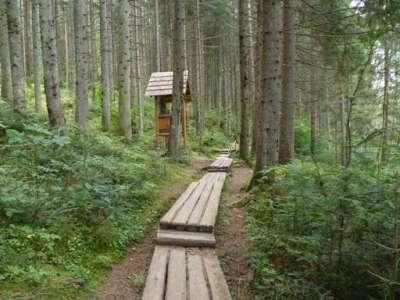 Lesnický skanzen Čierny Balog foto