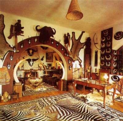 Africké muzeum v Balatonederics foto