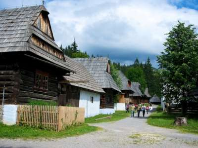 Muzeum oravské dědiny foto