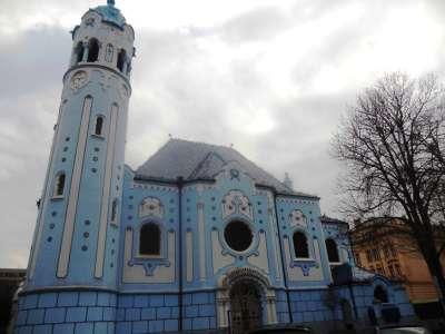 Kostel svaté Alžběty foto