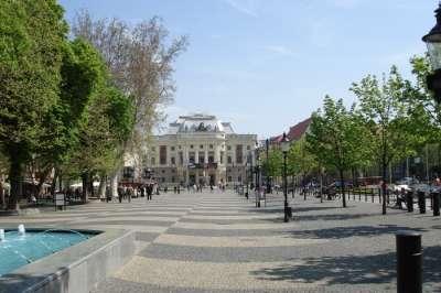 Hviezdoslavovo náměstí foto
