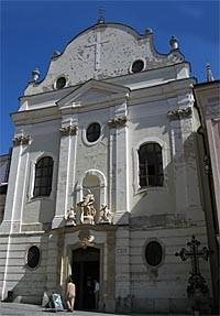 Františkánský kostel  foto