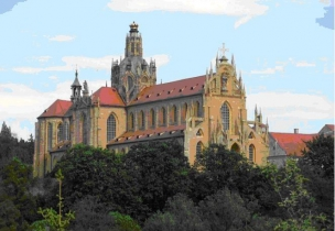Kladrubský klášter foto