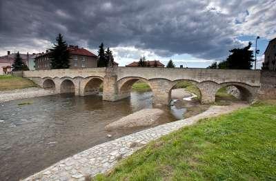 Svatojánský most v Litovli foto