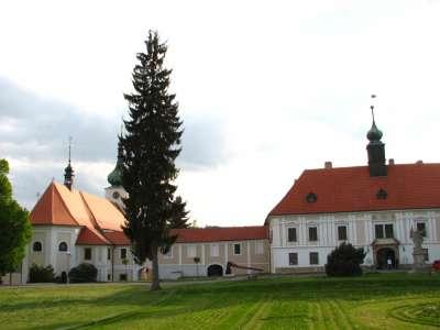 Barokní zámek v Konici foto