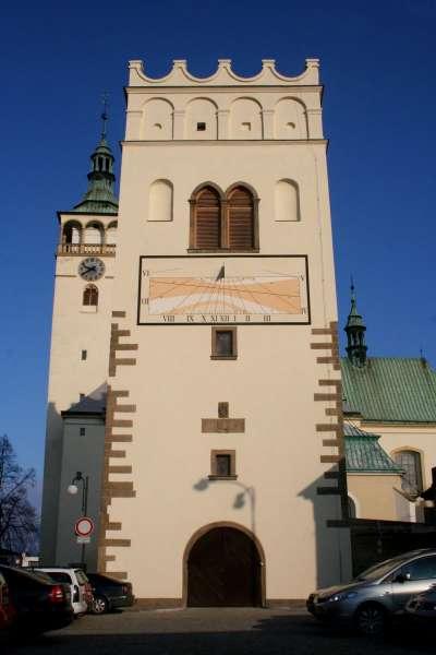 Zvonice v Lipníku nad Bečvou foto