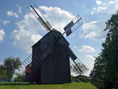 Větrný mlýn Partutovice foto