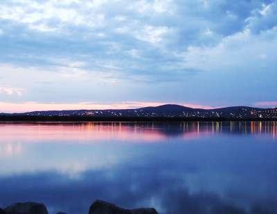 Jezero Velence foto