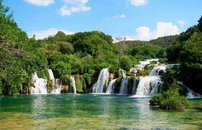 Národní park Krka foto