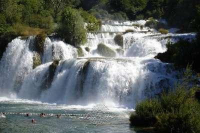 Řeka Krka foto