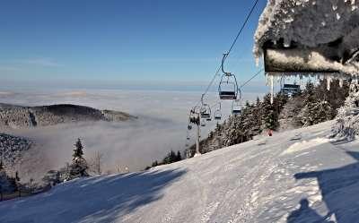 Ski areál Pustevny foto
