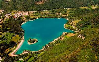 Lago di Tenno foto