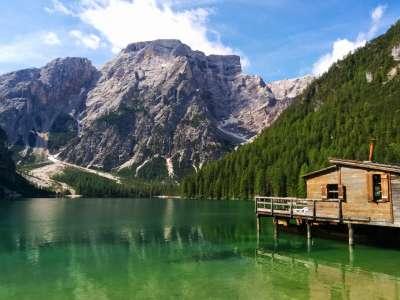 Lago di Pragser Wildsee foto