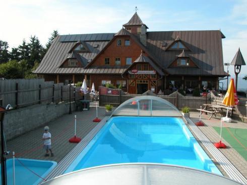 Hotel s bazénem jižní čechy