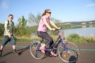 Cyklotrasa Piešťany foto