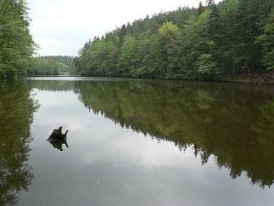 Odlezelské jezero foto
