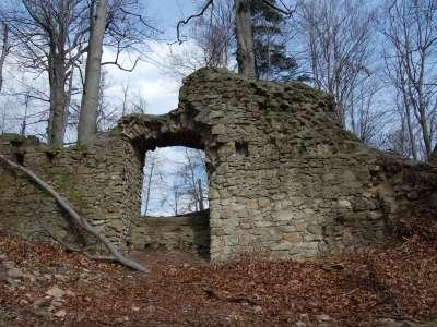 Rožnovský hrad foto