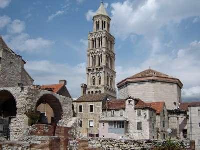 Diokleciánův palác foto
