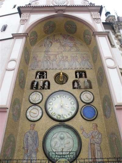 Olomoucký orloj foto