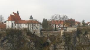 Františkánský klášter v Bechyni foto