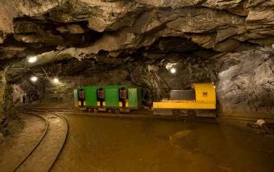 Grafitový důl Český Krumlov foto