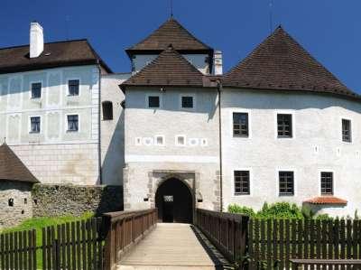 Státní hrad Nové Hrady foto