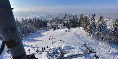 Ski areál Špičák foto