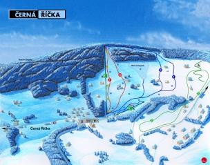 Ski areál Černá Říčka foto