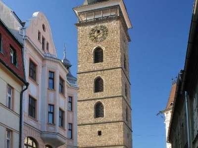 Černá věž České Budějovice foto
