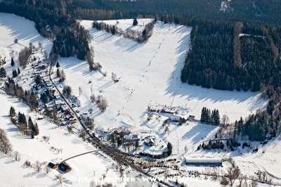 Skiareál Kašperské Hory foto