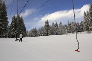 Ski areál Kubova Huť foto