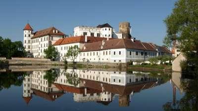 Státní hrad a zámek Jindřichův Hradec foto