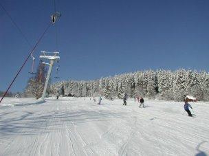 Ski areál Luisino údolí foto