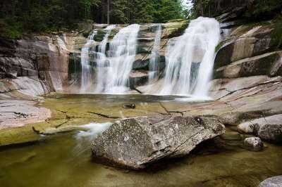 Mumlavské vodopády foto