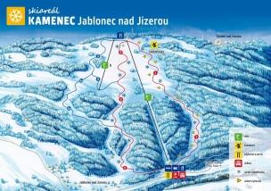 Skiareál Kamenec foto