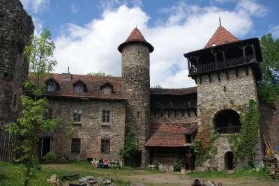 Nový hrad u Blanska foto