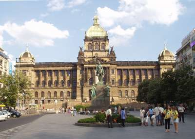 Václavské náměstí foto
