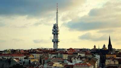 Žižkovská věž foto