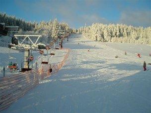 Ski snow park Harusův kopec foto