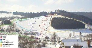 Ski areál Jimramov foto