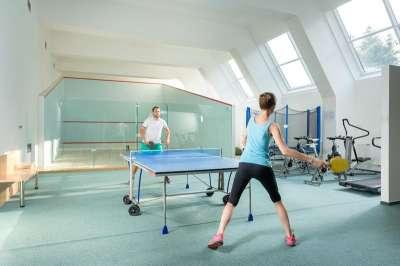 Možnost sportovního vyžití - stolní tenis
