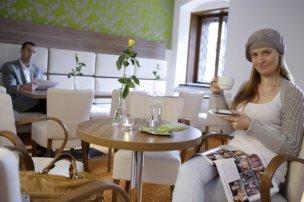 Lázeňský dům Eliška - kavárna