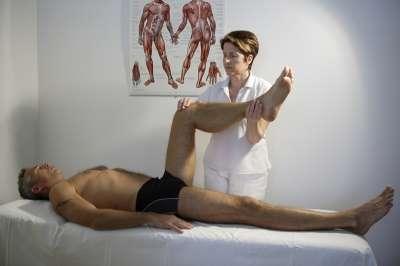 Individuální cvičení s fyzioterapeutem
