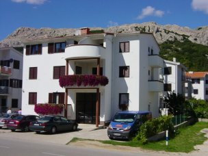 Příklad ubytování vila Capić