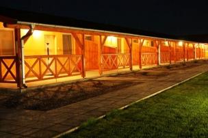 Osvětlená terasa