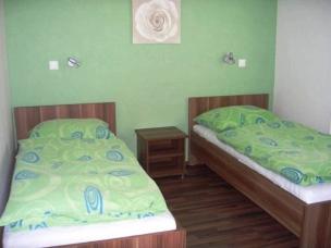 Jednolůžkové pokoje - zelená